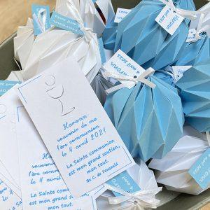 Carte et origami